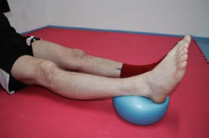 Krok č. 2 - propnuté koleno