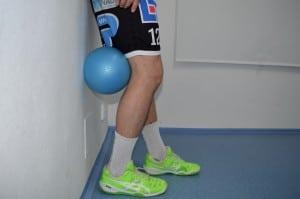Propínání kolene do overballu II.