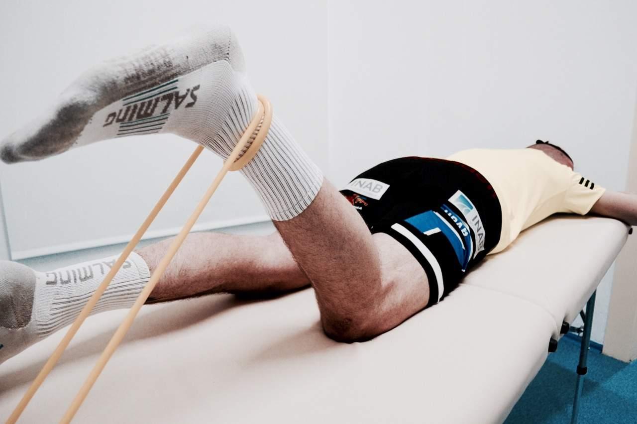 Rehabilitace kolene po zranění